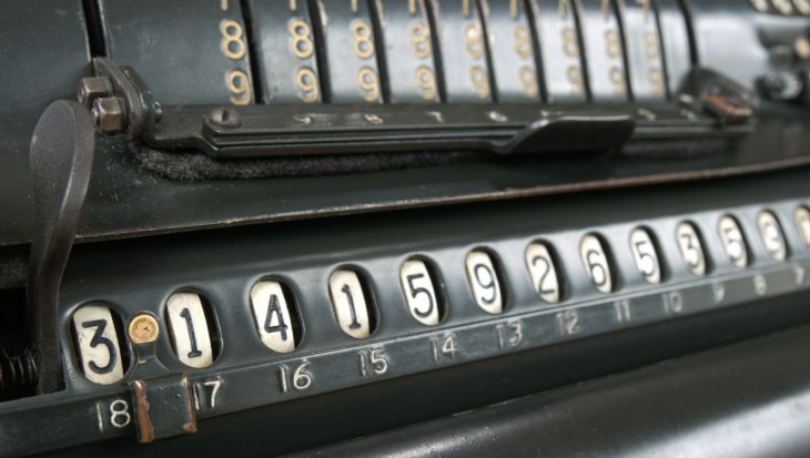 Calculate Vintage Calculator